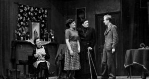 "A 1949 production of  The White Steed by the Progressive Players, Gateshead, England. The Abbey rejected the play,  proclaiming it too anti-clerical for the Irish stage. In response, Carroll published a scathing critique of the Abbey management in The Irish Times,  dismissing the board as ""self-appointed magistrates of the arts … some of whom hate the living theatre and fear its full and true interpretive expression""."