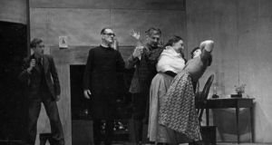 A 1949 production of The White Steed by the Progressive Players, Gateshead, England. The White Steed went on to enjoy a successful run on Broadway, where it won Carroll a second New York Drama Critics Award.