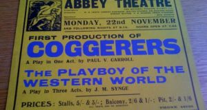 The Abbey staged Shadow and Substance in 1937, along with Carroll's one-act play Coggerers (later renamed Conspirators). Both plays were popular and critical successes, especially Shadow and Substance, which played to sold-out houses, prompting the Abbey to tout Carroll as a major new talent in Irish drama. The play also enjoyed a successful run on Broadway, where it won a New York Drama Critics Award in 1938.