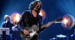 Hozier has received a Brit nomination for International Solo Male. Photograph: PA