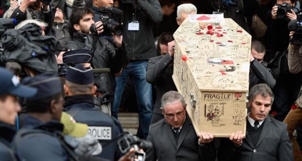 Charlie Hebdo Four Victims Of Paris Attacks Buried