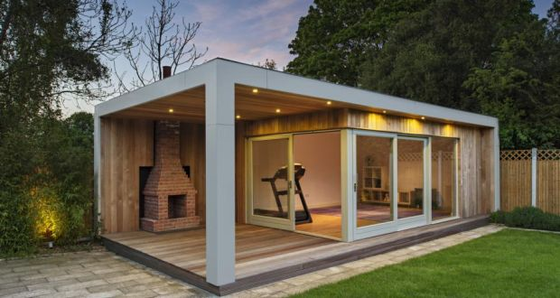 Garden gym shed inspiration