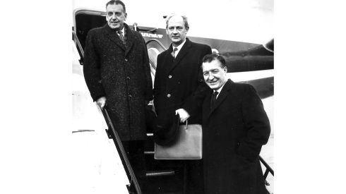 Sean Lemass, Jack Lynch and Charlie Haughey. Photograph: The Irish Times