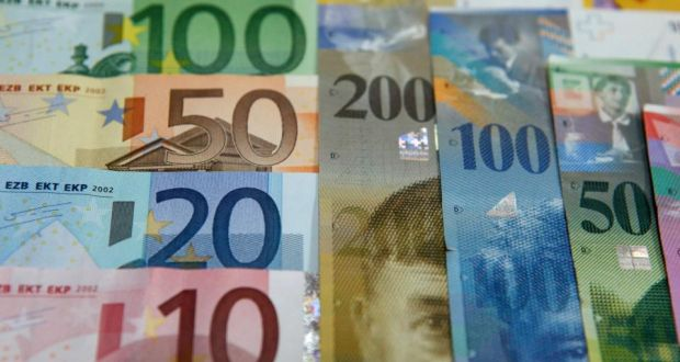 Euro Bank Notes And Swiss Franc The Shockwaves From Switzerland S Decision To Its