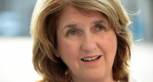 Tánaiste Joan Burton has rejected the idea that the Government's forthcoming spring economic statement will include a five-year tax reform plan. Photograph: Frank Miller/The Irish Times