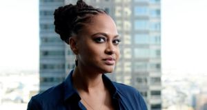 'Selma' director Ava DuVernay: 'This is art; this is a movie; this is a film. I'm not a historian. I'm not a documentarian.' Photograph: Kevork Djansezian/Reuters