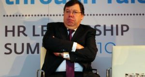 Brian Cowen. The Oireachtas banking inquiry plans to call the former taoiseach to a full hearing in due course, but this will not happen before summer. Photograph: Aidan Crawley