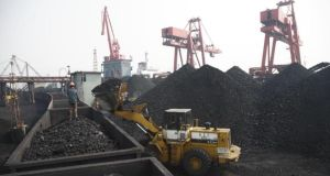 Nordea Asset Management said thermal coal mining is 'the most environmentally compromising fossil-fuel resource'. Photograph: Qilai Shen/Bloomberg News