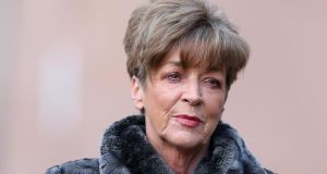 'Coronation Street' actress Anne Kirkbride, who played Deirdre Barlow. Photograph: PA