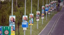 Over the last 40 years, Irish elections have been fought increasingly over competing manifestos and programmes for Government that have become progressively more sophisticated. Photograph: Cyril Byrne/The Irish Times