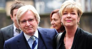 'Coronation Street' actors William Roache, who played Ken Barlow with Anne Kirkbride, who played Deirdre Barlow, as she has died after a short illness. Photograph: PA