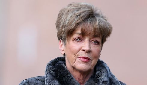 Late Coronation Street actress Anne Kirkbride. Photograph: Peter Byrne/PA Wire