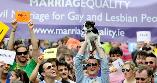 We Are Church (Ireland) said the Constitution does not define marriage as between a man and a woman. Photograph: Aidan Crawley/The Irish Times