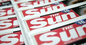 "'The symbolism of Page 3 of the Sun is potent. That it has been toppled is a joy. And the best joke on Twitter? ""Why stop at Page 3?"".' Photograph: EPA/ANDY RAIN"