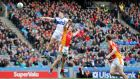St Vincent's Diarmuid Connolly scores a goal against Castlebar Mitchels in the All-Ireland club football final in March 2014, having won the Leinster club title in the previous calendar year. Photograph: Cathal Noonan