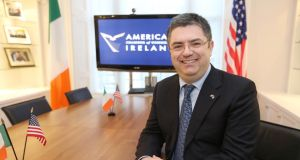 Eamonn Sinnott, the new president of the American Chamber of Commerce in Ireland