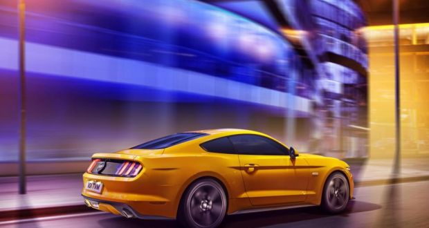Ford Brands Mustang With Price Tag