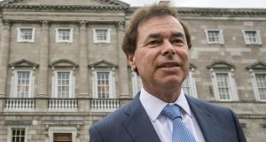 Former minister for justice Alan Shatter  has lost his appeal against the Data Protection Commissioner's decision on a complaint taken by Independent TD Mick Wallace over disclosures on RTE's Primetime.  Photograph: Brenda Fitzsimons/The Irish Times