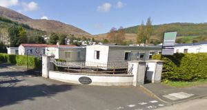 Bonnys Caravan Park in  Newcastle, Co Down. Photograph: Google Street View