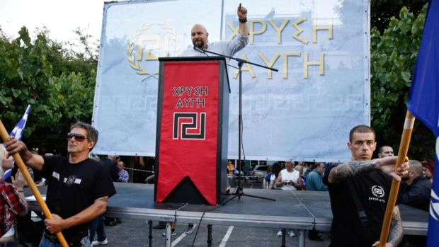 Greece election: Neo-Nazi party still vocal despite its