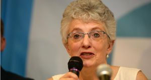 Senator Katherine Zappone:  said it  was regrettable it had taken successive Irish governments more than 20 years to legislate for gender recognition. Photograph: Dara Mac Dónaill/The Irish Times
