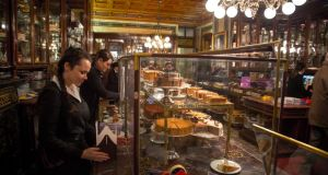 Demel, one of the oldest cafes in Vienna