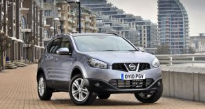 A Nissan Qashqai: new model had 'problems'