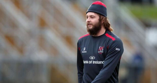 Ulster's Iain Henderson will make his first start of the season against Leicester on Saturday. Photograph: Darren Kidd/Inpho