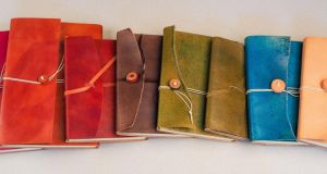Take a note of  these hand-sewn books