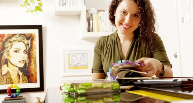 "Maria Popova, the founder of the literary blog Brain Pickings, in New York. 'Why would I want to write something that would have the shelf life of a banana?"" Photograph: Elizabeth Lippman/The New York Times"