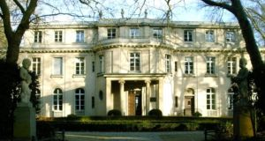 The Wannsee Villa in Berlin, where on  January 20th,   1942, Adolf Eichmann and Reinhard Heydrich met with others to plan the 'Final Solution'