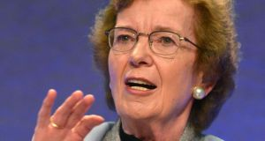 Former President and UN Special Envoy on Climate Change Mary Robinson