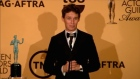 Eddie Redmayne reflects on Screen Actors Guild success