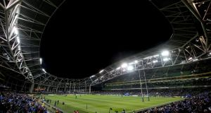 Leinster might be able to obtain a licence to sell alcohol inside the Aviva Stadium for a Good Friday quarter-final, but there would still be a huge loss economically to the local area. Photograph: Ryan Byrne/Inpho.