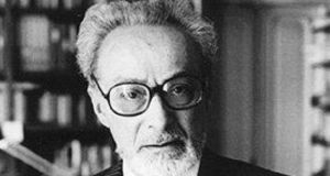 "Primo Levi: ""My Jewish identity took on a great importance following my deportation to Auschwitz. It is very likely that without Auschwitz I would never have written, and would have given only a little weight to my Jewish identity.""  He wrote in order to tell the world what happened. In time he would come to resent the literary world that regarded him not as an artist, only as witness. Photograph: Getty Images"