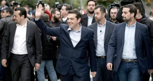 Greek prime minister Tsipras names his cabinet
