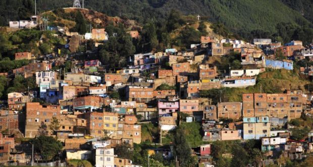 'Colombia has a long history of grave human rights violations. Five decades of conflict have resulted in approximately 5.7 million internally displaced people, involving the illegal seizure of approximately six million hectares of land.' Photograph: Getty Images