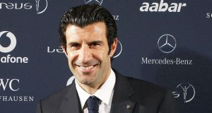Former Barcelona and Real Mdrdid winger Luis Figo is set to run for the Fifa presidency. (Photograph: EPA/BALLESTEROS)