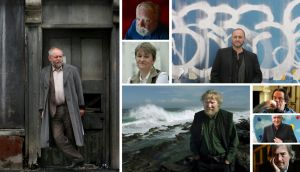 Hall of fame: (Clockwise from left) Patrick McCabe; Frank McGuinness; Deirdre Madden; Colum McCann; Neil Jordan; Joseph O'Connor; Sebastian Barry and Dermot Healy