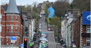 Patrick's Hill  in Cork: house price growth in the city has been gathering pace since the middle of last year. Photograph: Bryan O'Brien