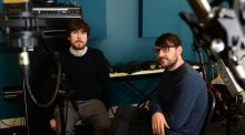 Chart-topping lecturers: Kieran McGuinness of Delorentos and James Byrne of Villagers, who teach at BIMM. Photograph: Dara Mac Dónaill