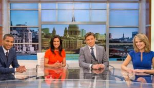 "Good Morning Britain presenters (from left) Sean Fletcher, Susanna Reid, Ben Shephard and Charlotte Hawkins:  the decision to buy breakfast television rights had come sooner than expected, but  Good Morning Britain was liked by viewers because it was ""brand new and fresh"".  Photograph: Ken McKay/ITV/PA"