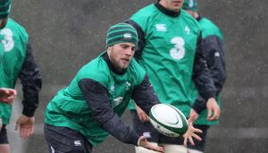 Ian Madigan, who has been named at outhalf for the Ireland Wolfhounds. Photograph: Cathal Noonan/Inpho