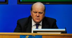 Minister for Finance Michael Noonan: On budget day he announced improved tax incentives for research and development aimed at attracting inward investment. Photograph: The Irish Times