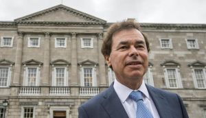 Former minister for justice Alan Shatter requested Ceann Comhairle Seán Barrett  rule out his handling of claims made by whistleblower Sgt Maurice McCabe from an inquiry into allegations of Garda malpractice, The Irish Times has learned. Photograph: Brenda Fitzsimons/The Irish Times