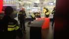 Man wielding gun arrested at Dutch national broadcaster