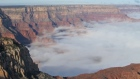Grand Canyon lost in a sea of cloud