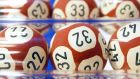 In  a national lottery, the sequence 1-2-3-4-5-6 is as likely to tumble from the machine as any other combination, yet picking this combination intuitively feels less likely than a wider spread of numbers.  Photograph: Joel Saget/AFP Creative/Getty