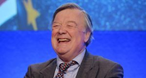 Former UK chancellor Ken Clarke addressing a European Movement Ireland Conference titled 'Reform or Referendum the UK, Ireland and the future of Europe'. Photograph: Alan Betson/The Irish Times