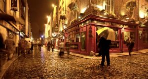 Spoiled for choice: Temple Bar's best pubs are heaving with people. Photograph: Frank Whitney/Photographer's Choice/Getty
